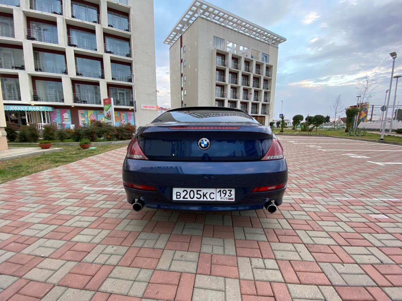 BMW 630I COUPE